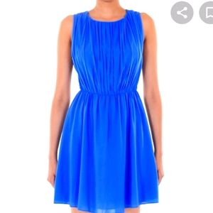 Calvin Klein blue dress and shawl S4 fits like m